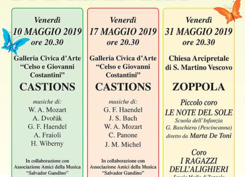 Concerti organizzati da Corale Santa Cecilia