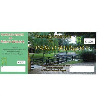 Sagra Parco Burgos 22 agosto – 1 settembre, Castions di Zoppola